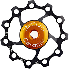 KCNC Jockey Wheel 11 tænder Ceramic Bearing sort